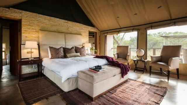 Safari Plains tent interior - Bushscapes